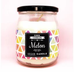 Melon - Duża świeca