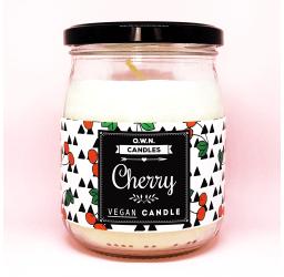 Cherry - Duża świeca