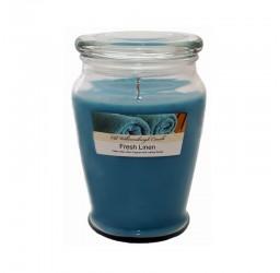 Fresh Linen - Duża świeca