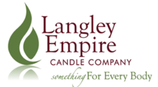 LANGLEY EMPIRE CANDLE